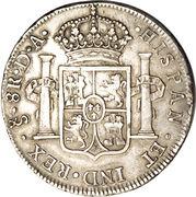 8 Reales - Carolus IV – revers