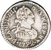 ¼ Real - Carlos IV -  avers