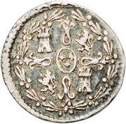 ¼ Real - Carlos IV -  revers