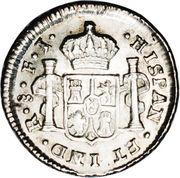 ½ Real - Carlos IV – revers