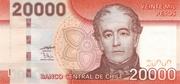 20000 Pesos – avers
