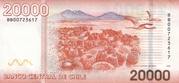 20000 Pesos – revers