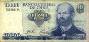 10000 Pesos -  avers