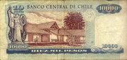 10000 Pesos -  revers