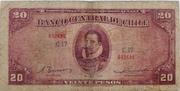 20 Pesos – avers