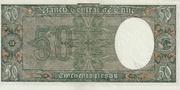 50 Pesos 5 Condores – revers