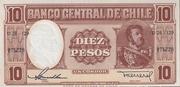 10 Pesos Un Condor – avers