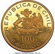 100 escudos (Essai) – revers