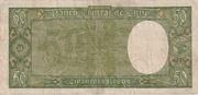 50 Pesos 5 Condores -  revers