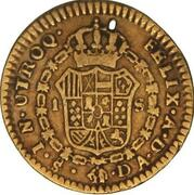 1 Escudo - Carlos IV (bust of Carlos III) – revers