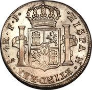 4 Reales - Carlos IV – revers