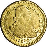 1 Escudo - Carlos IV – avers