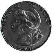 100 pesos / 10 condores (Essai) – avers