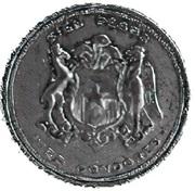 100 pesos / 10 condores (Essai) – revers