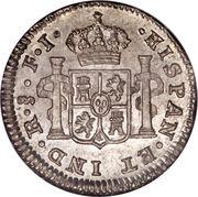 ½ real Fernando VII – revers