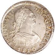 4 Reales - Fernando VII – avers
