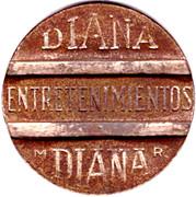 Jeton - Diana – avers