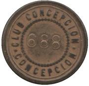 20 Centavos - Club Conceptcion – revers