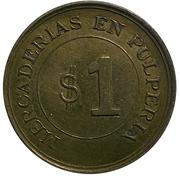$1 Oficina Britannia – revers