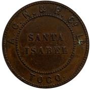 20 Centavos Santa Isabel – avers