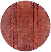 Jeton de téléphone - CTC (flèche vers le haut; bronze grand module) – revers