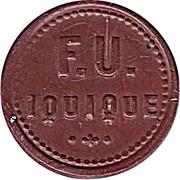 10 Centimos - F.U. Iquique – avers