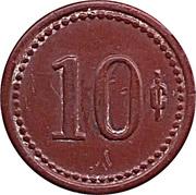 10 Centimos - F.U. Iquique – revers