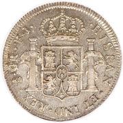 4 Reales - Fernando VII – revers