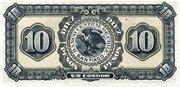 10 Pesos (1 Condor) – revers