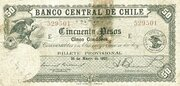 50 Pesos (5 Condores) – avers