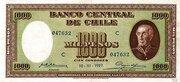 1000 Pesos (100 Condores) – avers