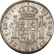 8 Reales - Fernando VII – revers