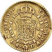 1 Escudo - Carlos IIII (bust of Carlos III) – revers