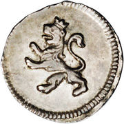 ¼ Real - Fernando VII – revers