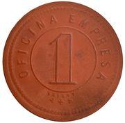 1 Peso - H.B.S y Cia. – revers