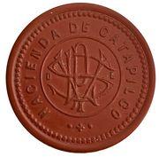 1 peso - Hacienda de Catapilco – avers