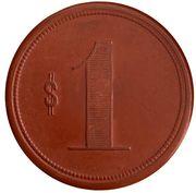 1 peso - Hacienda de Catapilco – revers