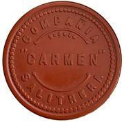 1 peso - Compañia Salitrera - Carmen – avers