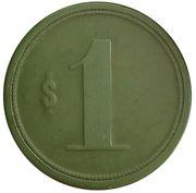 1 peso - Compañia Salitrera - Carmen – revers