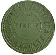 2 peso - Compañia Salitrera - Pissis – avers