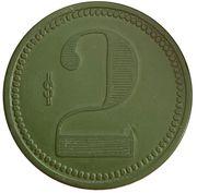 2 peso - Compañia Salitrera - Pissis – revers