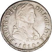 2 Reales - Fernando VII -  avers