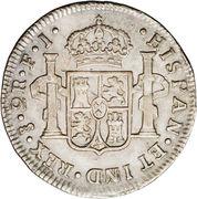 2 Reales - Fernando VII -  revers