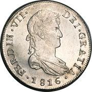 8 Reales - Fernando VII – avers