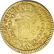 2 Escudos - Fernando VII – revers