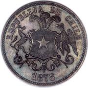 10 pesos (Essai) – revers