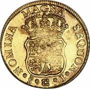 4 Escudos - Fernando VI – revers