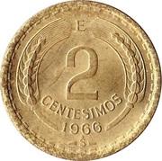 2 centesimos -  revers