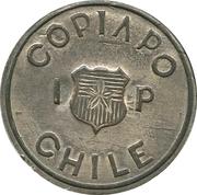 1 Peso Copiapo – avers