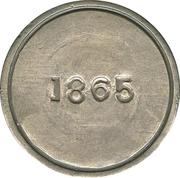 1 Peso Copiapo – revers